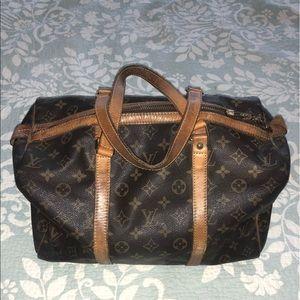 Vintage Louis Vuitton Sac Souple 35 Satchel Bag